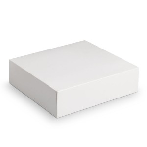 boite g teau carton blanche 23 x 8 cm. Black Bedroom Furniture Sets. Home Design Ideas