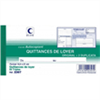 Quittance de loyer 50 tripli 105 x 210 mm
