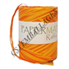 Pelote raffia orange / mandarine 100m x 10mm