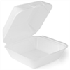100 assiettes burger jetables plastique 215 x 210 x 105 mm