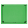 500 sets de table papier vert 31 x 43 cm